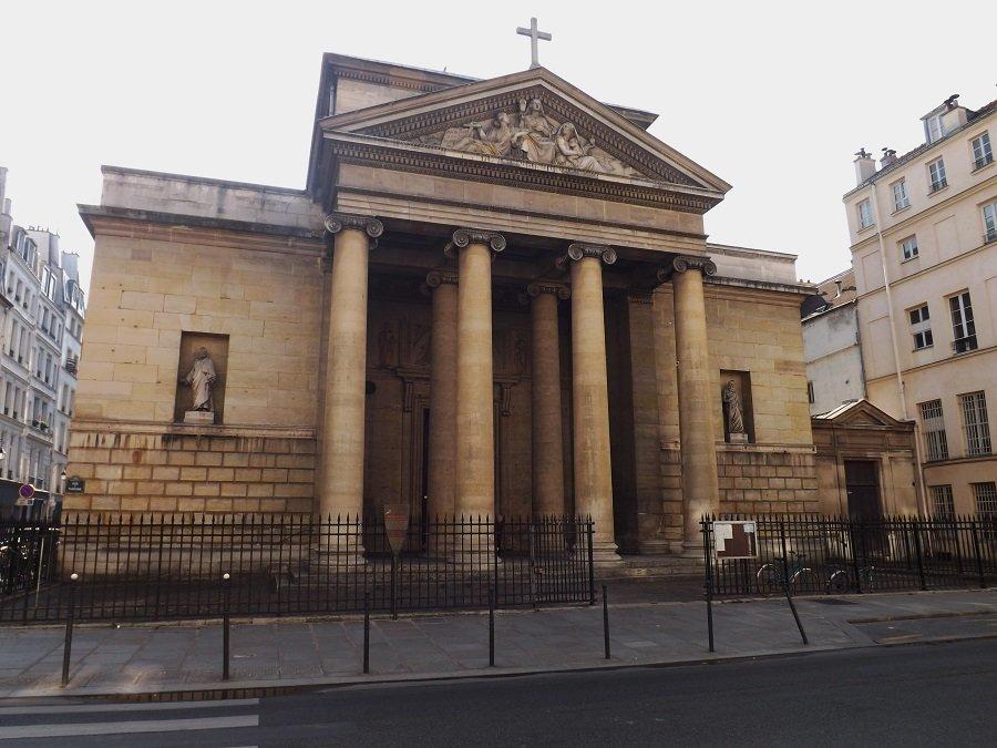 église st denys du saint sacrement