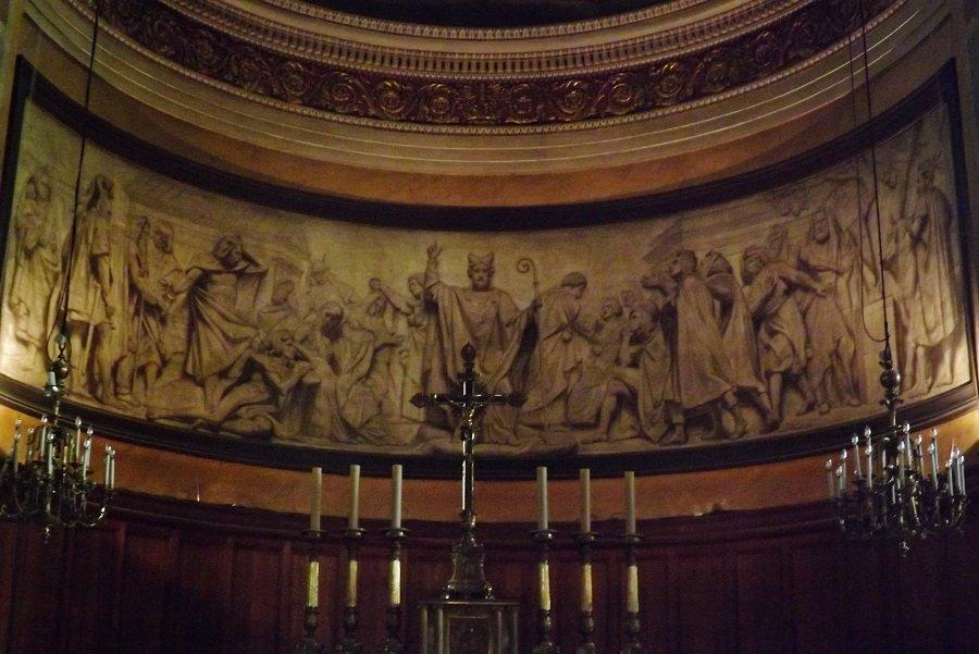 peinture église st denys