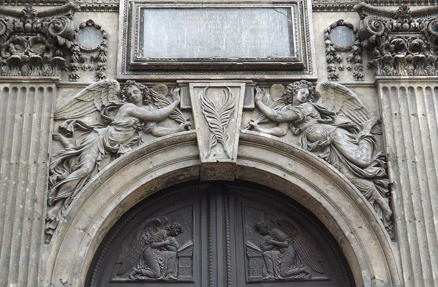 détail portail st nicolas des champs
