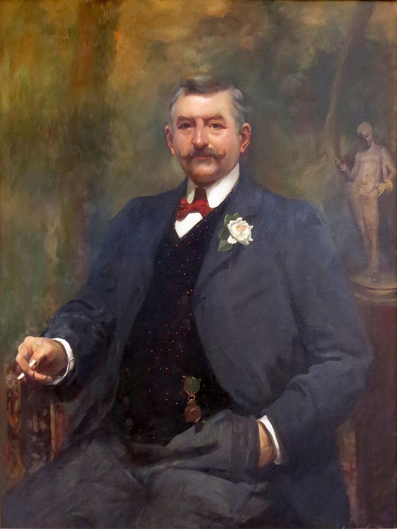 portrait d'Ernest Cognacq