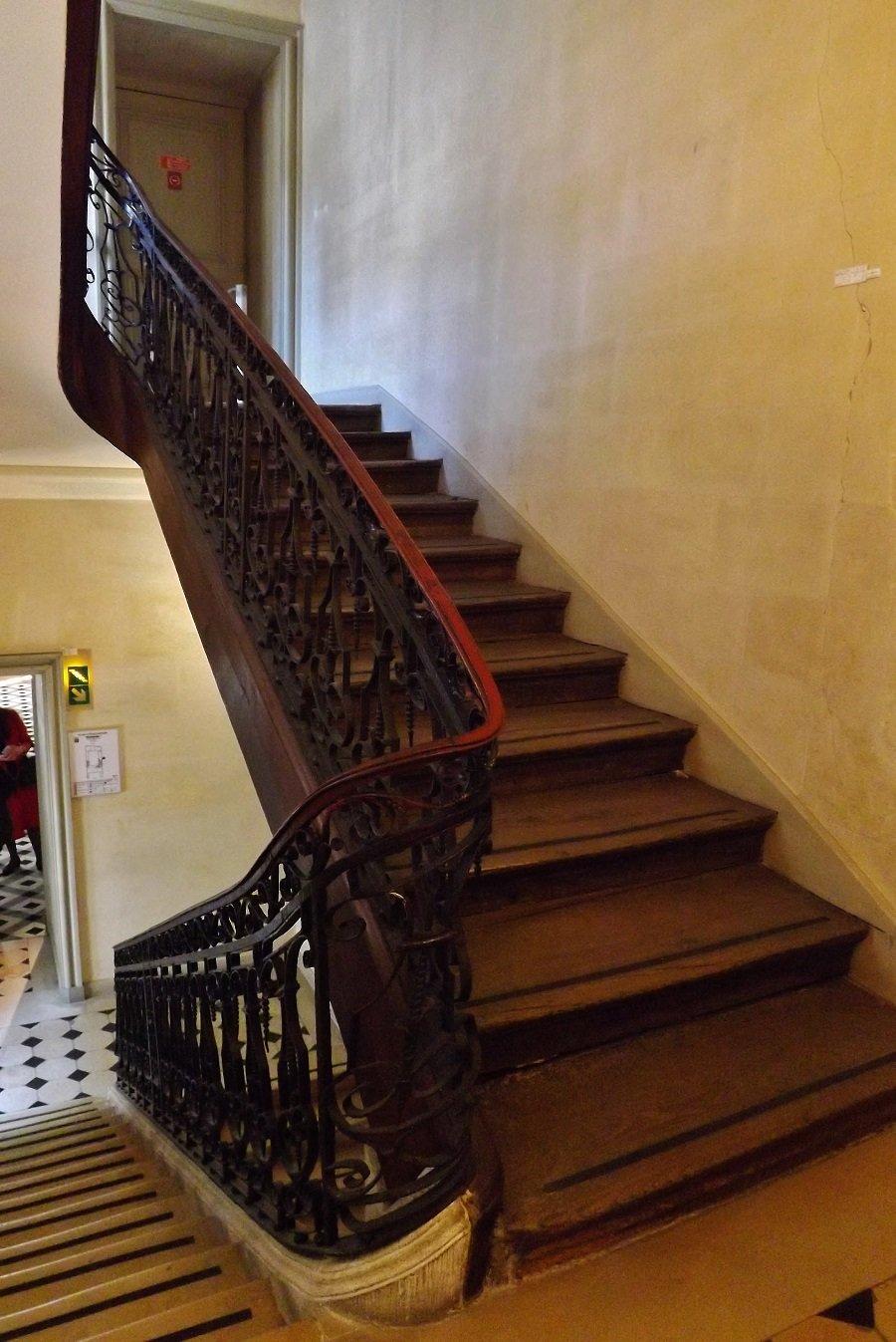 escalier hotel Donon1