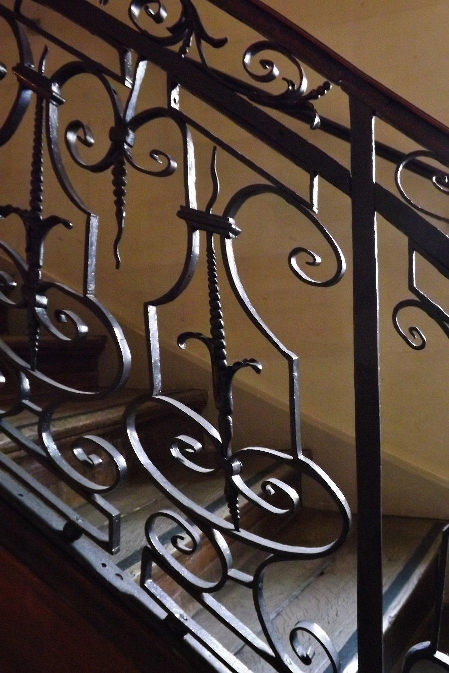 escalier musée c jay détail