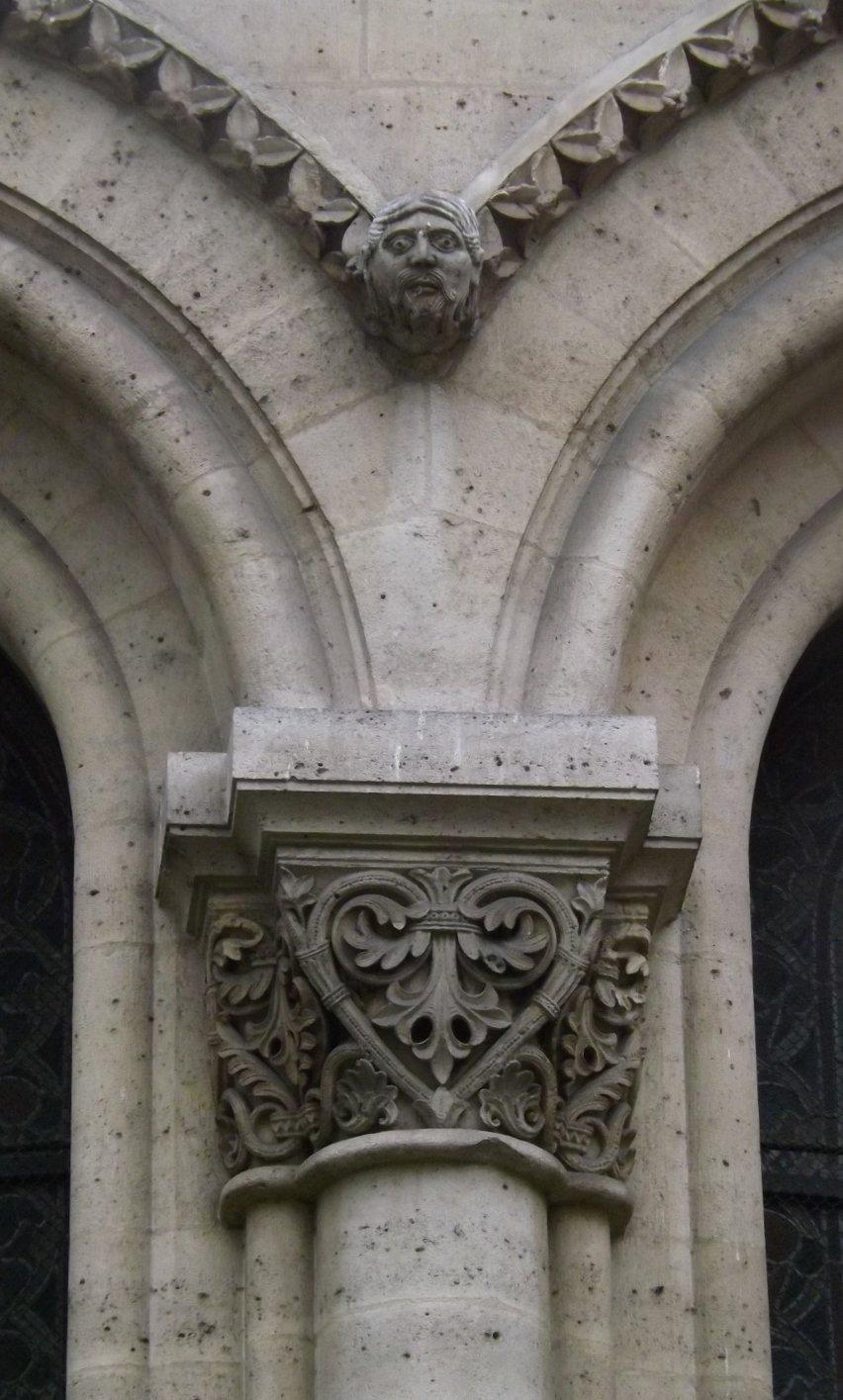 décor fenêtres chevet
